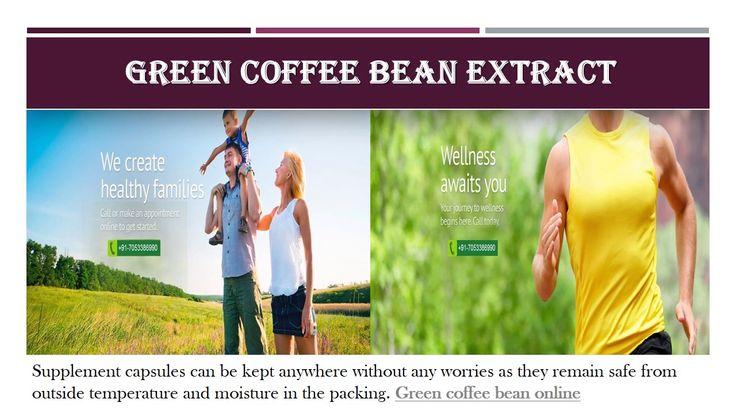 Buy Green Coffee Bean Best Health Supplements Online