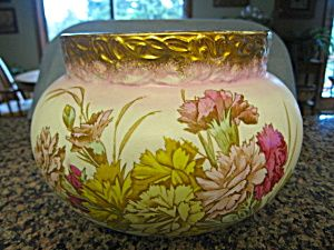 Antique Victorian creamware jardinaire, c: 1800's, for sale at More Than McCoy on TIAS!