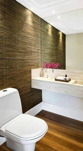 banheiros com pisos porcelanato madeira - Pesquisa Google
