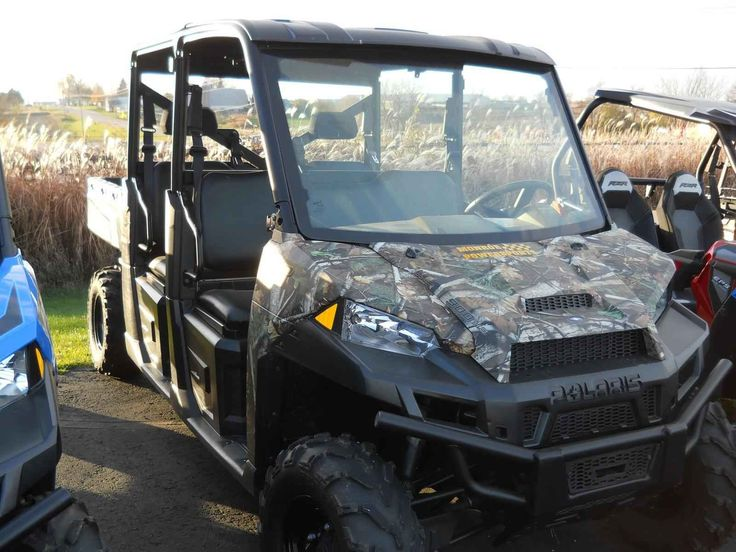 New 2016 Polaris RANGER CREW 900 CAMO ATVs For Sale In Wisconsin. 2016 POLARIS  RANGER