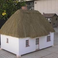 Houseland Parque Temático. Vivienda tradicional Irlanda.