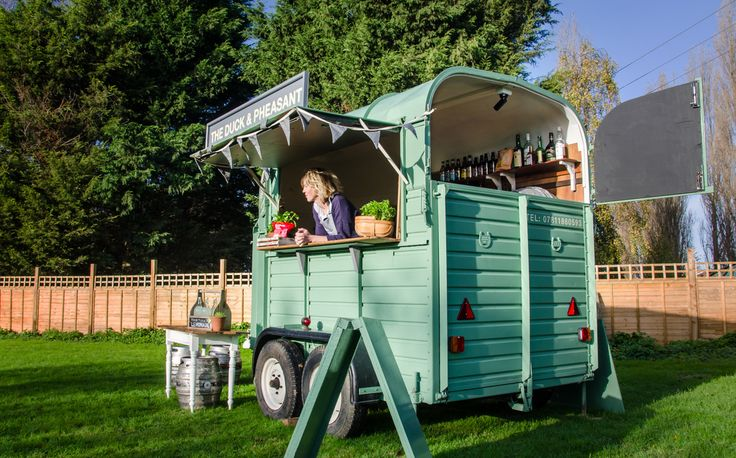 duck & pheasant - mobile bar - Home