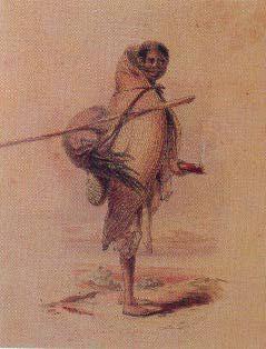 Pellampellamwallah, an Aboriginal woman of the Coorong.