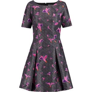 Noir Sachin & Babi Maemi embroidered jacquard mini dress