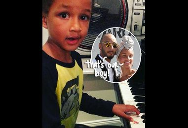 Alicia Keys & Swizz Beatz?s Six-Year-Old Son Egypt Proves He's A Super-Boy By Performing His First Original Song — WATCH!