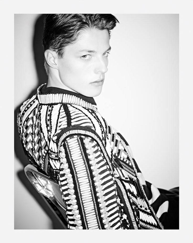 Wilhelmina Models: Brodie Scott for Balmain Spring/Summer 2015 at PFW. - See more at: willhelmianews.com