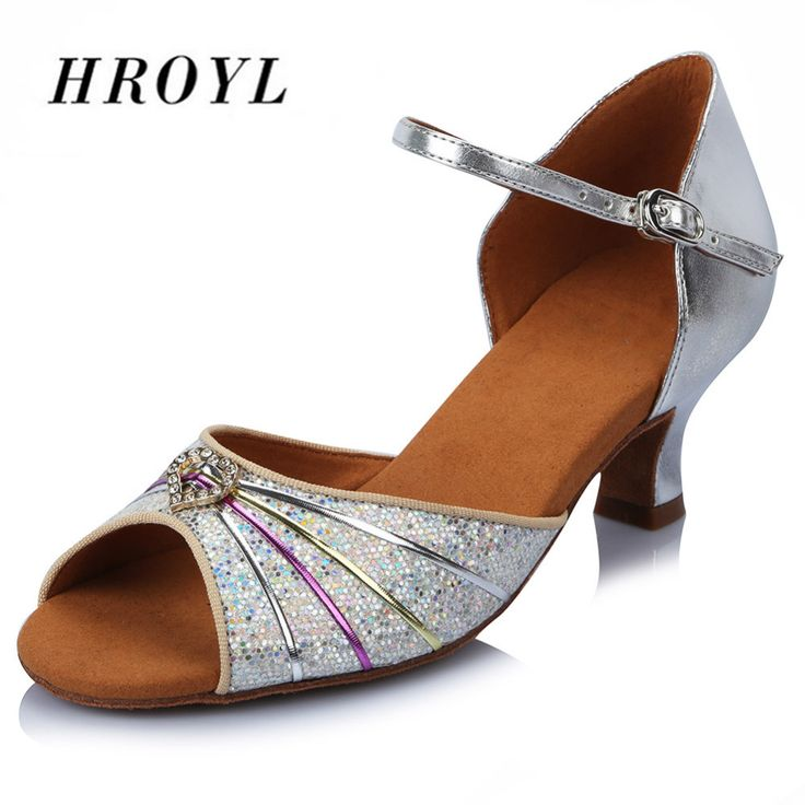 Soft Sole Sequined Cloth Dance Shoes/ Latin Dance Shoes/Salsa Party Tango Ballroom Shoes For Danceing Women Girls Ladies 31-42