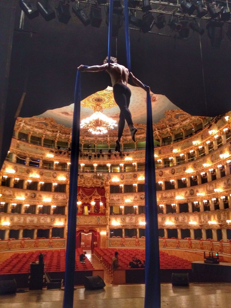 Nico Gattullo at Teatro La Fenice in Venice