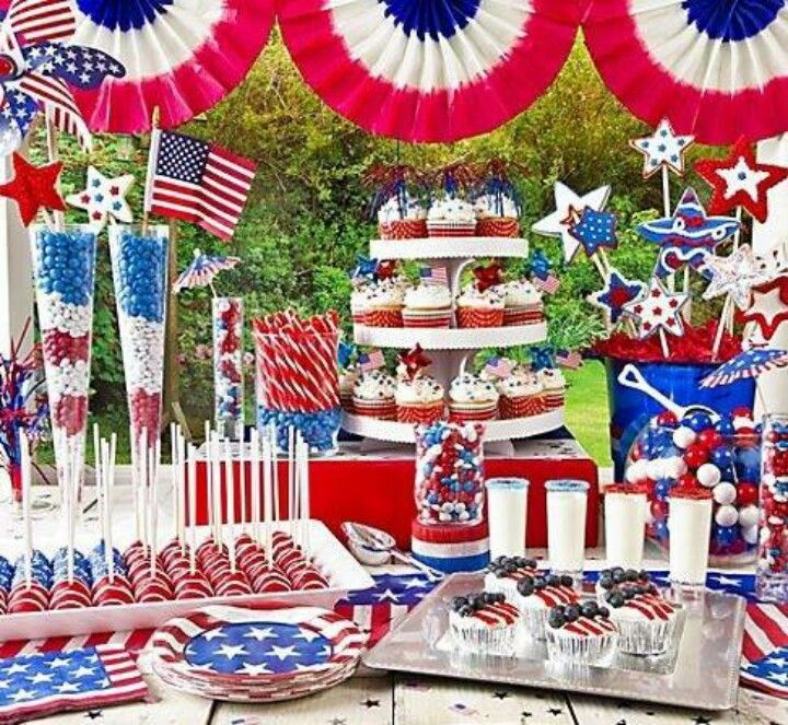 Forth of July Candy Barr..