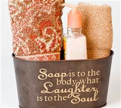 This personalized storage tine would make such a great and simple gift!