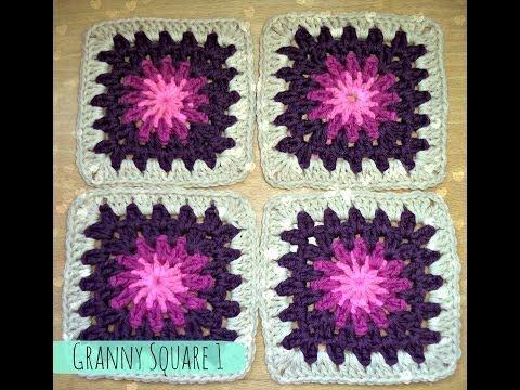 Happy Ganchillo : Cojín Granny Square ¡Adorna tu casa con objetos bonitos!
