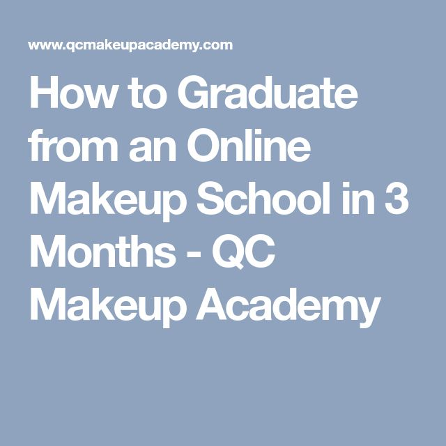 How to Graduate from an Online Makeup School in 3 Months - QC Makeup Academy