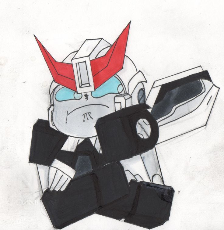Transformers mtmte more than meets the eye prowl ask art draw work copic markers