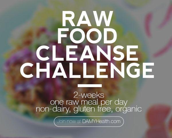 DAMY Raw Food Cleanse Challenge