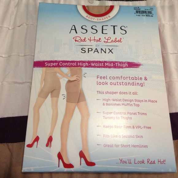 "Spanx Super Control High Waist Mid Thigh I ordered these thinking they were a women's size 6 however they are a Spanx size 6 which is for women 5'4""-6"" between 265-295lbs. They are in a brand new sealed package. SPANX Intimates & Sleepwear Shapewear"