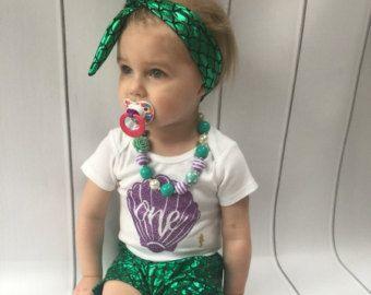 Chica primer cumpleaños traje del bebé / primer cumpleaños
