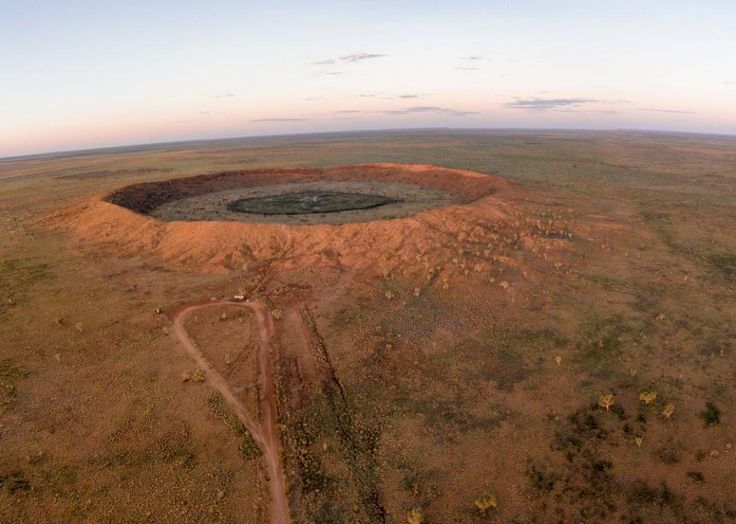 Australia's Wolfe Creek Crater