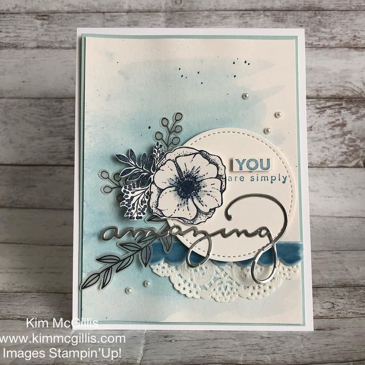 "Kim McGillis Papercrafting (@kim_mcgillis) on Instagram: ""Did you check out the Sale-a-bration brochure? So many possibilities with the Amazing You Stamp Set…"""