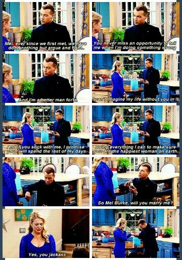 Melissa and Joey proposal