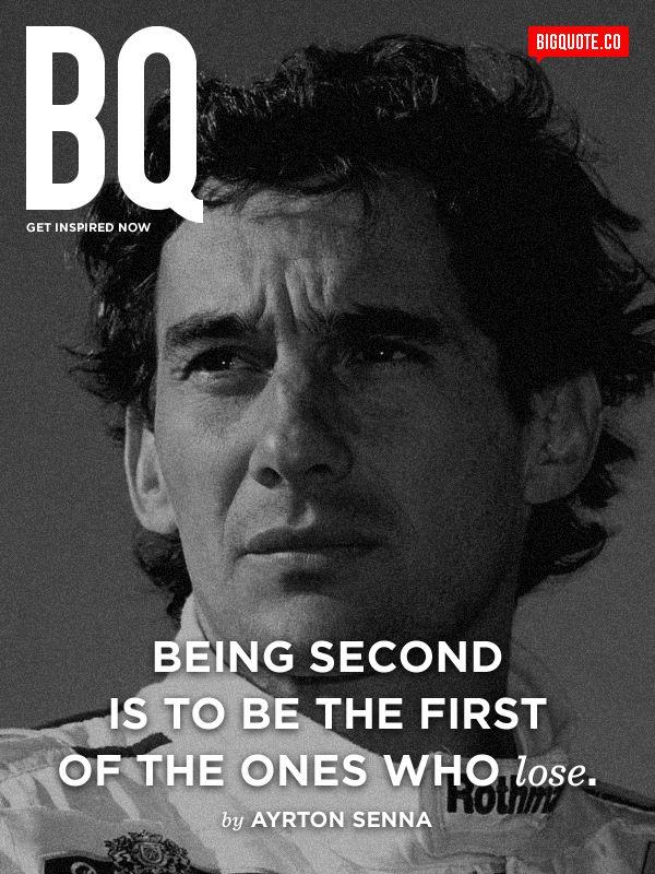 Ayrton Senna #Success #Motivation