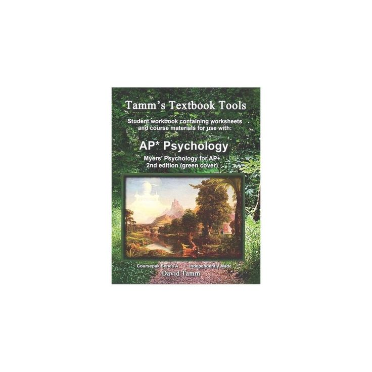 Myers' Psychology for Ap ( Tamm's Textbook Tools) (Workbook / Student) (Paperback)