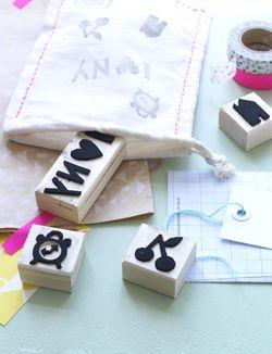 Maak zelf je eigen stempels voor het versieren van kaarten, kadootjes en je interieur.