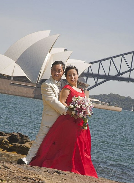 Sydney Opera House & Bridge 悉尼歌剧院和悉尼大桥 by Flickr user phillam Photography