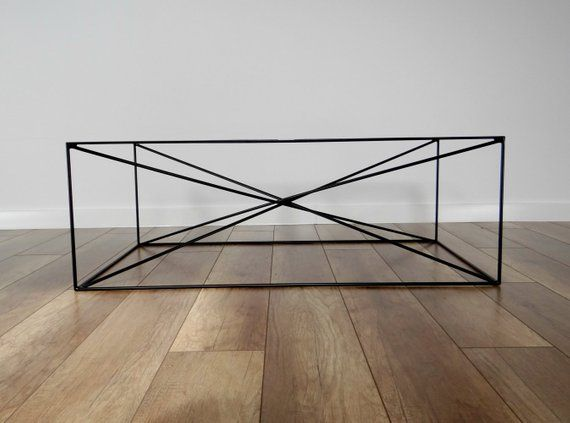 Spider Steel Coffee Table Base 100x60cm Large Modern Coffee Table