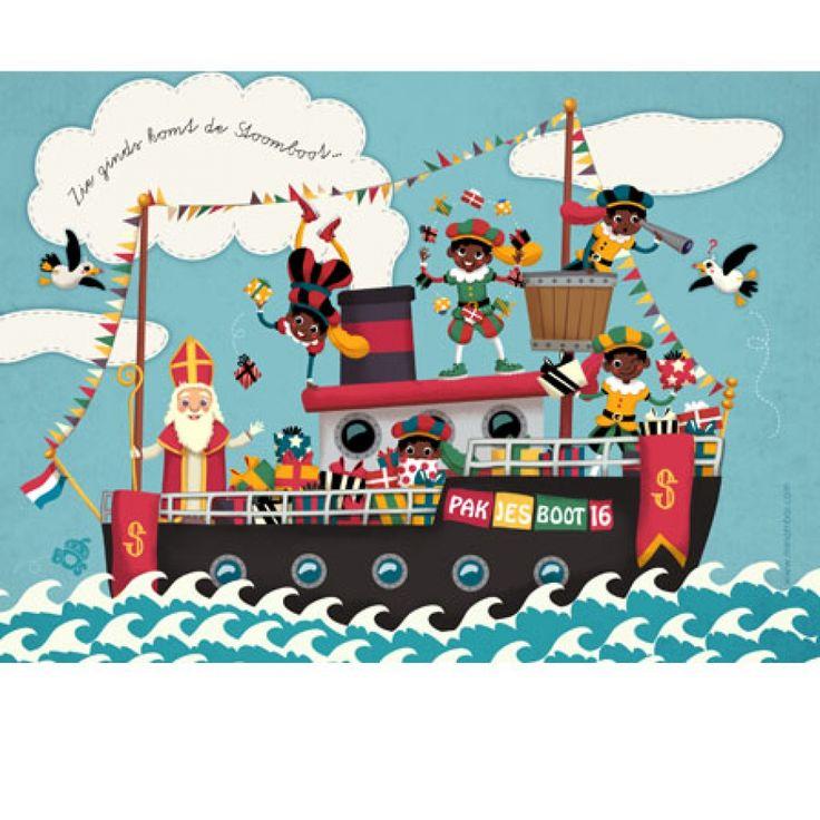 Petite Miri Kaart Pakjesboot