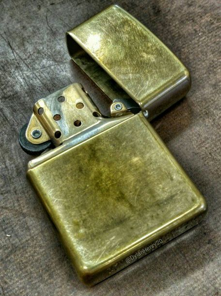 Zippo lighter fan photo by Instagram user @ dylanhenry20