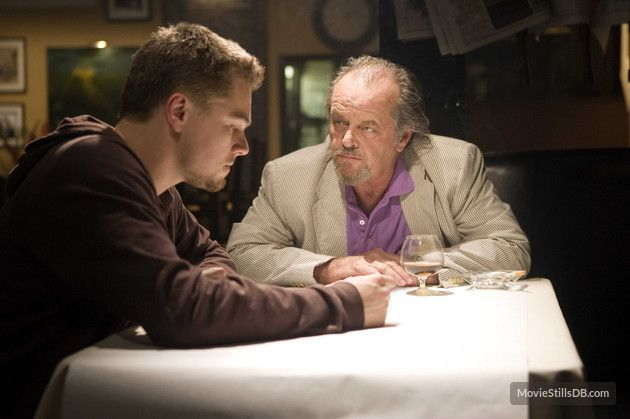 The Departed - Publicity still of Leonardo DiCaprio & Jack Nicholson