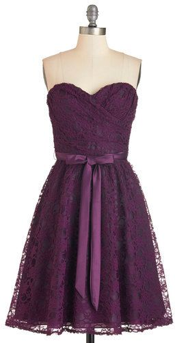 Marina Dancing Upon Air Dress in Plum on shopstyle.com