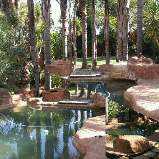 Rock pool Midrand, Designer Gardens Landscaping www.designergardenlandscaping.co.za
