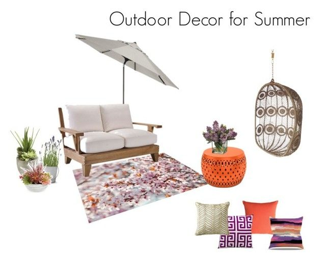 Outdoor Decor for Summer by jennyzellerlutes on Polyvore