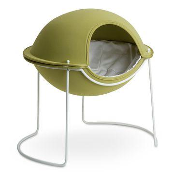 hepper/Pod bed グリーン 33915yen 人とペットが喜ぶデザインのベッド