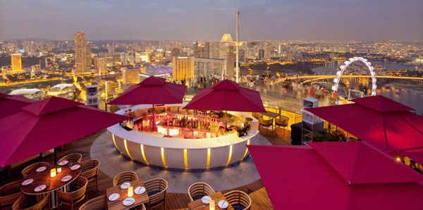 Ku Dé Ta; Singapore, Singapore | 11 Rooftop Bars For The Perfect Midnight Rendezvous Abroad