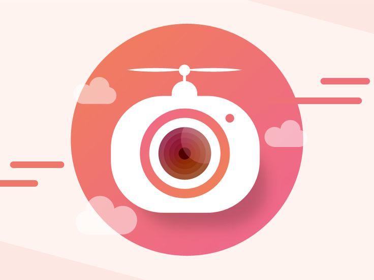 App Icon / Logo - Drone App by Intuz