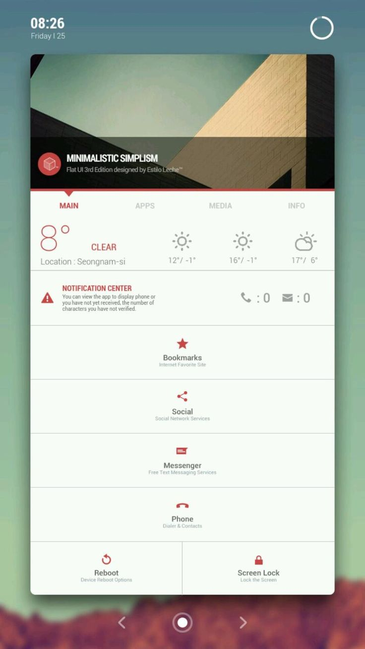 Leche Design™ | Minimalistic Simplism Hi Guys ~ I'm Leche™ :^) I've got a series of new Homepack Flat UI style. Please apply only at a resolution of 1080x1920