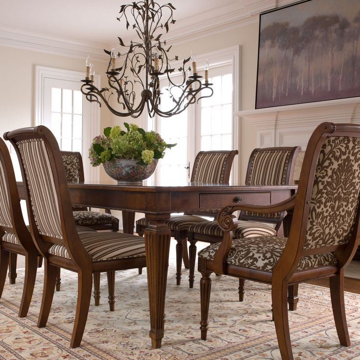 Ethan Allen Dining Room Sets: Adison Side Chair