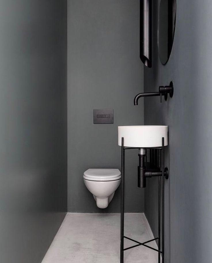 16 besten Betonoptik Bilder auf Pinterest Badezimmer, Wohnen und - badezimmer kleine räume