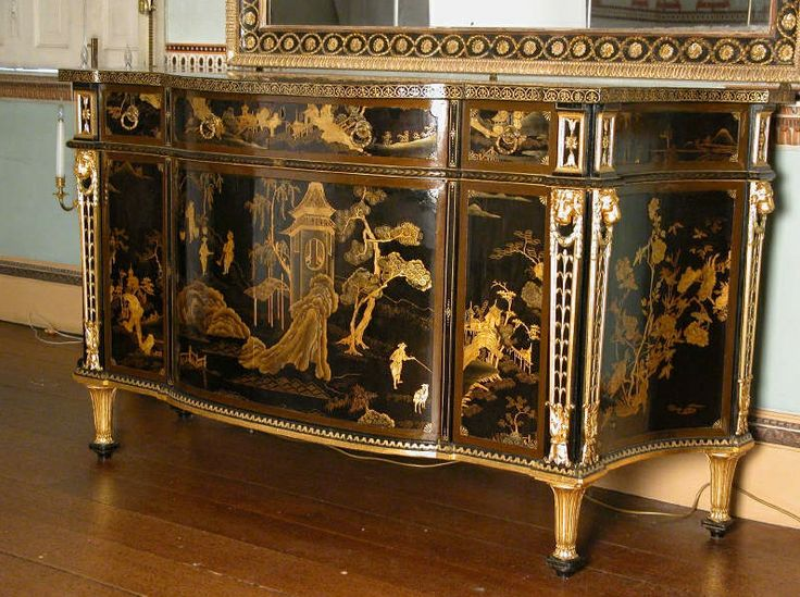 Mobili chippendale ~ Best thomas chippendale images antique furniture
