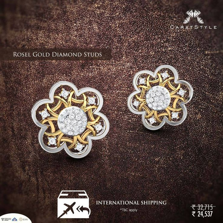 #Jewellery and romance - never goes out of style. #earring #diamond #diamondearring #goldearring #goldjewellery #diamondjewellery #gold #fashion #lifestyle