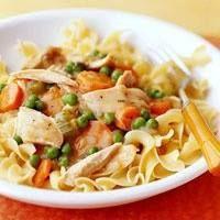 Chicken Noodle Casserole. Add more chicken!