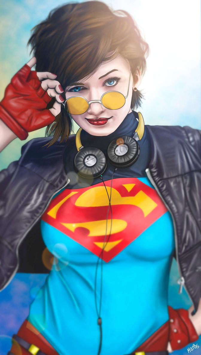 90's Supergirl by M4TiKo on DeviantArt