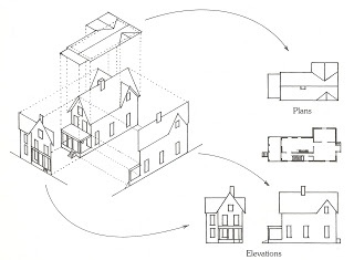 House Orthographic Drawing
