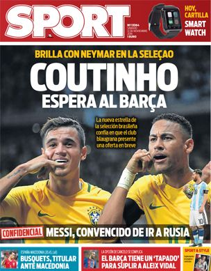 SPORT | Noticias del Barça, La Liga, fútbol y otros deportes