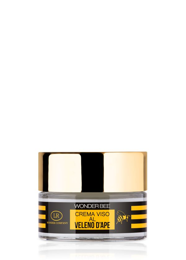 "A new star is born! The 24-hour ""Wonder Bee"" face cream features a new star ingredient: bee venom. It is valued for its smoothing properties and so provides a special anti-ageing effect."