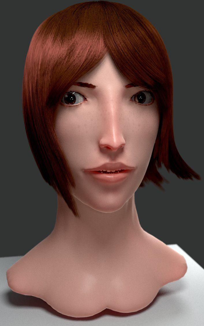 3D character by ninjatogo