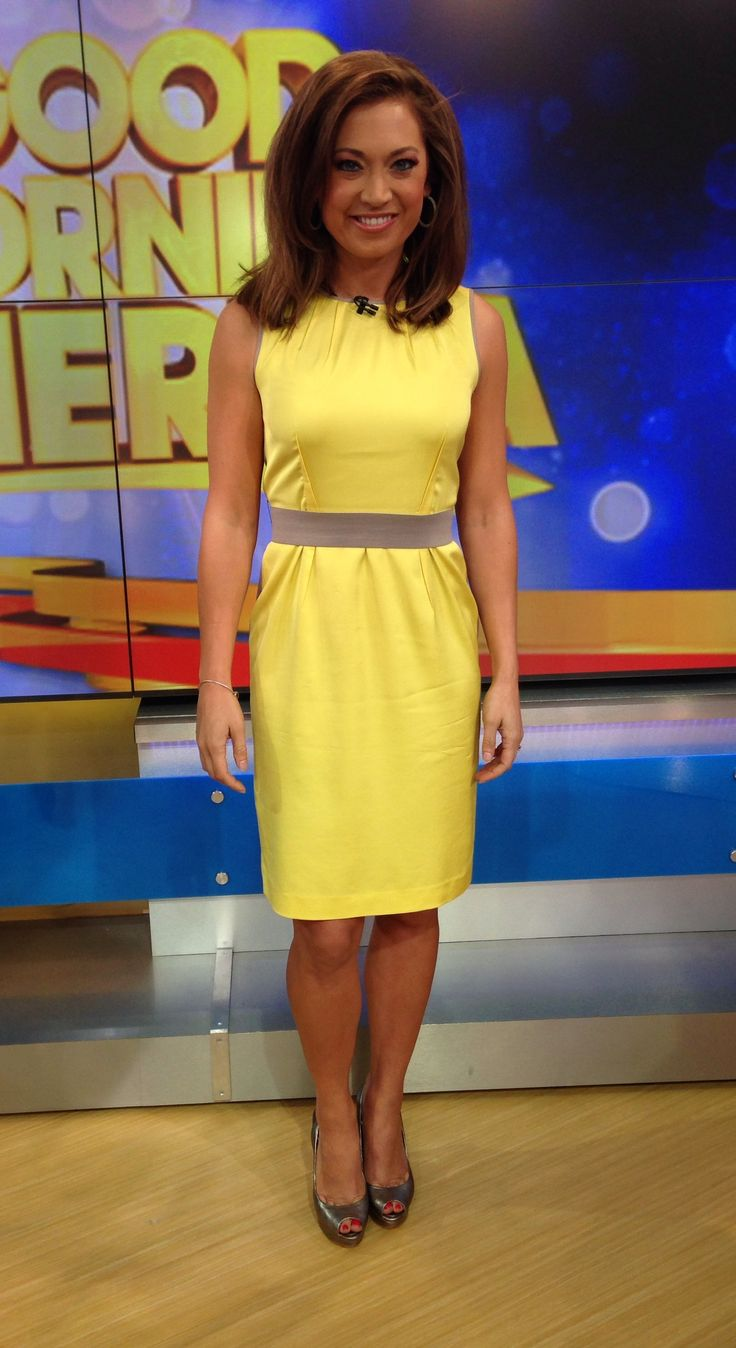 46 best Ginger Zee images on Pinterest | Ginger zee, Sexiest women and Amy robach