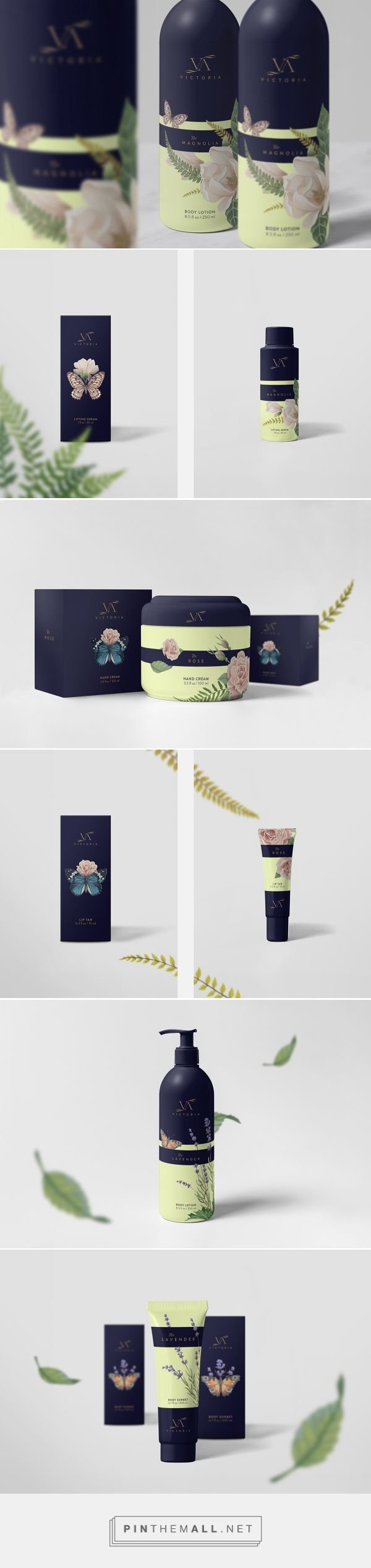 Victoria Cosmetics on Behance | Fivestar Branding – Design and Branding Agency Inspiration Gallery - Luxury Beauty - http://amzn.to/2hZFa13